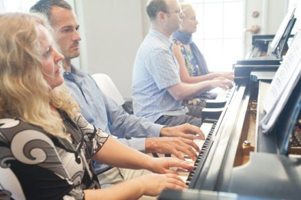 Teacher, her 3 prized students to perform '2 Pianos, 8 Hands'